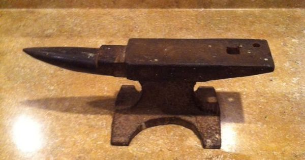 Black smith anvil hand forged lb farrier metal