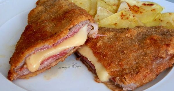 Cachopo de ternera a typical recipe of my homeland for Asturian cuisine