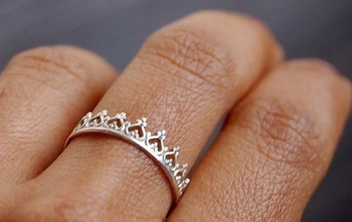 Crown ring. This would be super cute for any girls in your