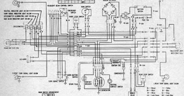 Part 2 Complete Wiring Diagrams Of Honda Ct90 All About Wiring Diagrams Diagram Electrical Diagram Honda
