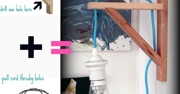 The cheapest cool lamp or the coolest cheap lamp ever - Portalampada ikea ...