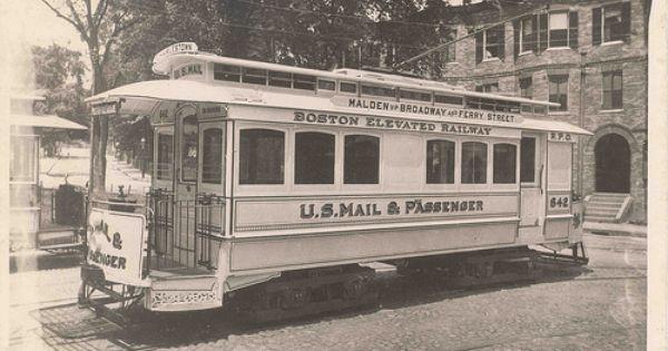 Boston Massachusetts Mail Streetcar Rapid Transit Boston History Travel Alone