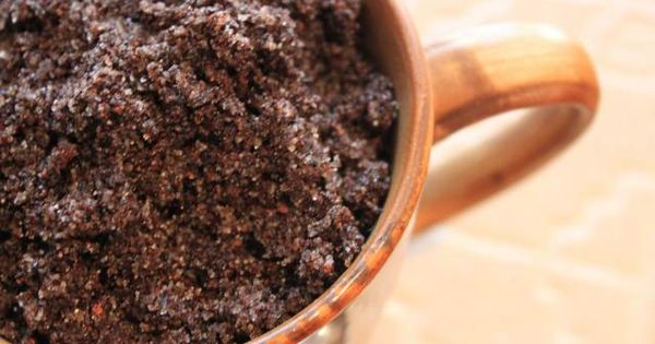 DIY Coffee Facial Scrub