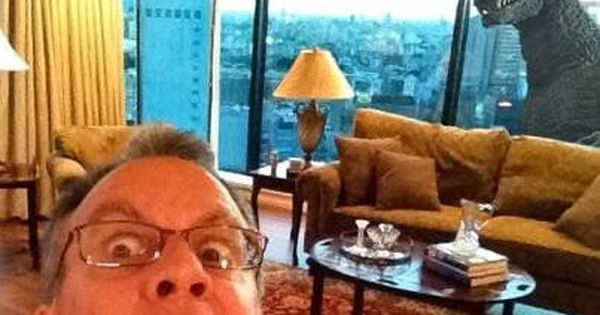 Not sure which is better -- the view, or WTF the dad