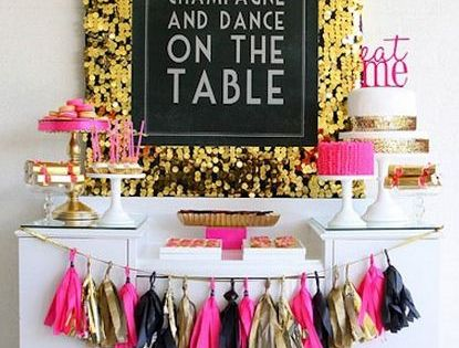New Years time to drink champagne ... bachelorette party idea
