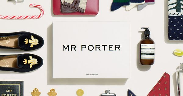 Men 39 s gifts module inspiration site merch editorial for Mr porter logo