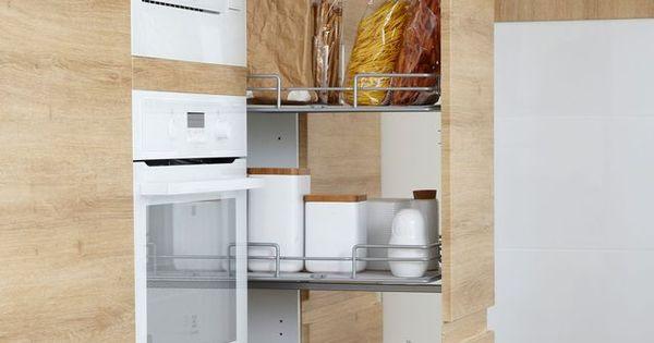 5 id es pour une cuisine maxi rangement colonne de rangement la hauteur et hauteur. Black Bedroom Furniture Sets. Home Design Ideas