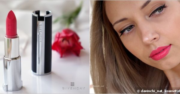 Givenchy le rouge lipstick 301 magnolia organza make up for Givenchy rouge miroir lipstick