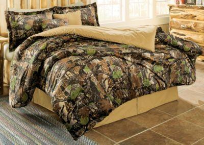White River Camo Patchwork Quilt Set Camo Comforter Sets Camo Home Decor Camo Comforter