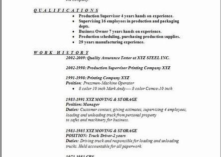 General Labor Resume:examples,samples Free Edit With Word