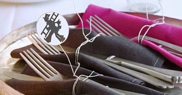 dekoration f r die silvester party. Black Bedroom Furniture Sets. Home Design Ideas