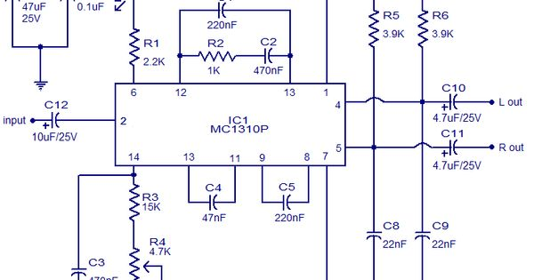 Stereo Decoder circuit Diagram Electrical Concepts