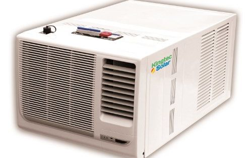 Solar powered window air conditioner kingtec solar http for 17 wide window air conditioner