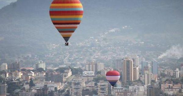 Festival Do Balonismo Em Santa Maria Rs Com Imagens