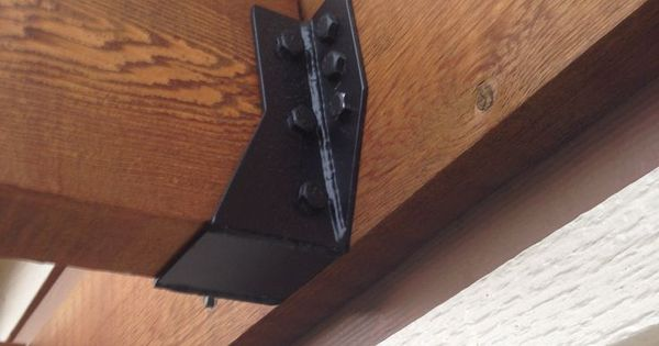how to join wood beams and joists with metal bracket - Google Search  110 The Loft ...