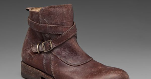 Would my son know how cool these are? FRYE Jayden Cross Strap
