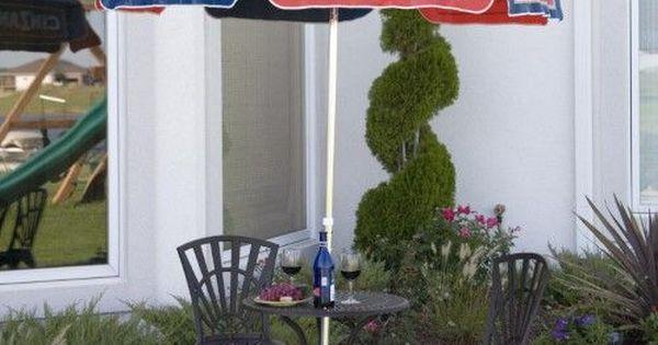 Aluminum Cinzano Patio Umbrella, Blue   D, Products And Patio Umbrellas