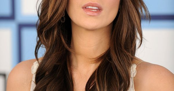 lovely brunette hair color