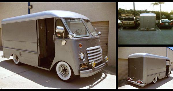 Vintage Step Van For Sale Craigslist >> Vintage Step Vans | CARTICULAR: Craigslist Find: Bagged 54 Chevy Step Van | Vintage Vans ...