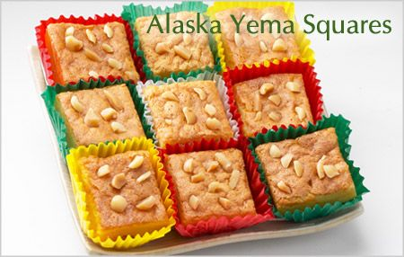 Yema squares traditional filipino food christmas for Alaskan cuisine traditional