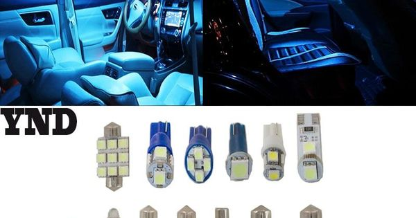 10xfit Chrysler Voyager Dodge Caravan 2001 2007 Light Smd Full Led
