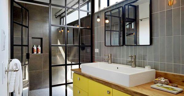 Verriere Salle De Bain Castorama : Salle de bains colorées avec une ...