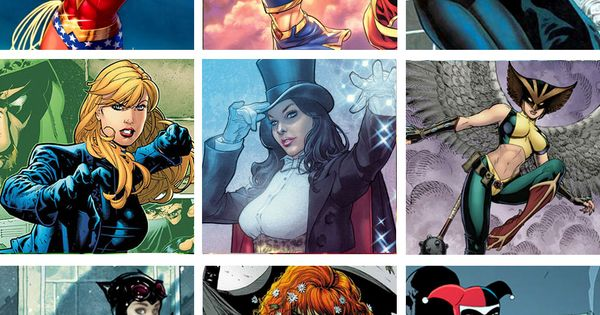 WOMEN OF THE DCU Pt. 1: Wonder Woman, Supergirl, Batgirl, Black Canary,