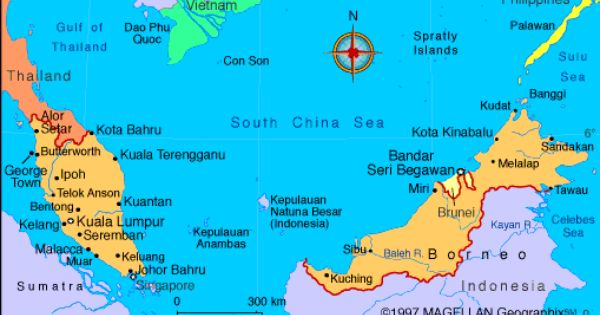 Map Of Malaysia Malaysia Is On The Malay Peninsula In Southeast Asia The Nation Also Includes Sabah And Sarawak On The Island O Malaysia Borneo Holiday City