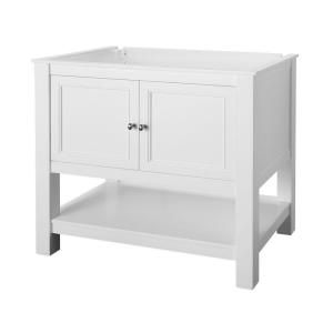 Home Decorators Collection Gazette 36 In Vanity Cabinet Only In White Gawa3622 At The Home Depot Granite Vanity Tops Vanity Cabinet Home Decorators Collection