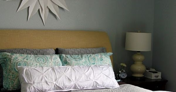 Loooove this wall color for master bedroom!