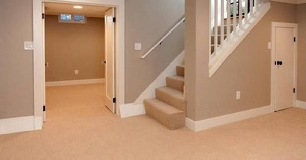 Best Basement Stairs Open Railing Wall Like How Open It Is 400 x 300
