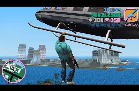 Helicopter Grab Mod Gta Vice City Best Mods 6 Youtube City Games Gta Intro Youtube