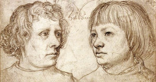 Ambrosius And Hans Holbein By Their Father Hans Hobein The Elder