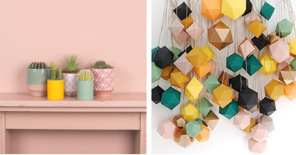 Crushing on color kleur kleuren en interieur - Decoratie wallpaper eetkamer ...