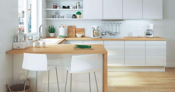 Id e table haute cuisine 2 chaises association plan de - Table haute plan de travail ...