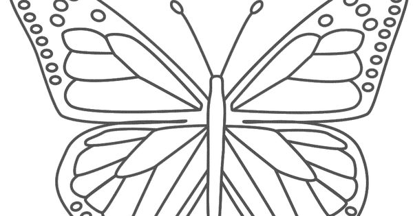 embroidery pattern for monarch