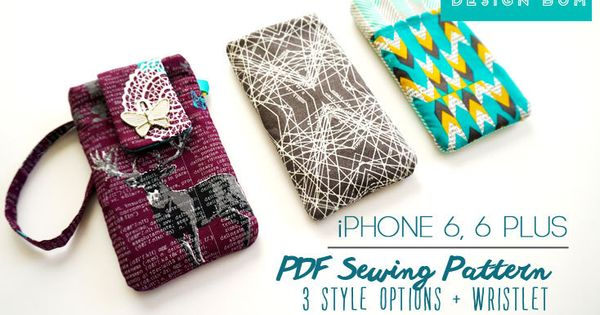 iphone 6 tutorial iphone 6 sewing pattern iphone 6 plus pdf 11436