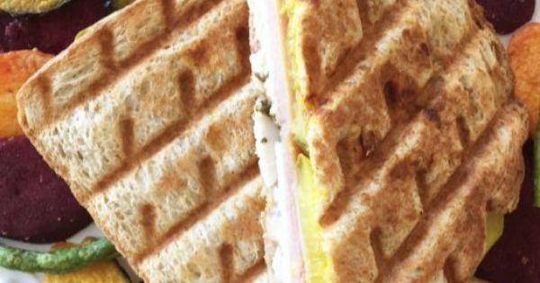Recipe: Healthified Turkey Cuban Sandwich | Cuban sandwich