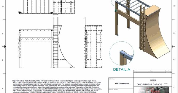 Plans For A Ninja Warrior Warped Wall Local Gym