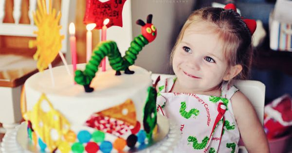 the MomTog diaries: The Very Hungry Caterpillar: Ella's 3rd Birthday Party