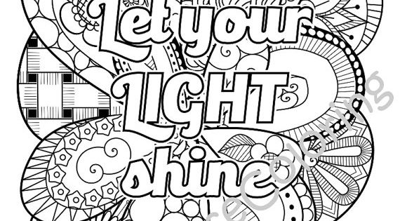 5 Bible Verse Coloring Pages Pack 2 Simple By