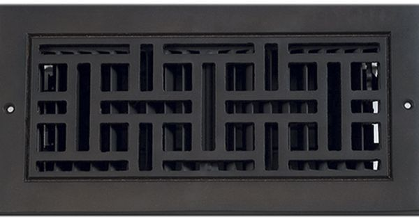 Classic Grills Arts And Crafts Themed Registers Aluminum Vent Covers Air Vent Covers Wall Vents