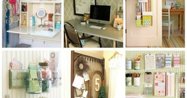 Organizing ideas decoraci n estudio mesas de trabajo for Ideas decoracion estudio