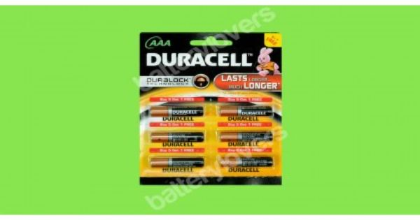 Duracell Aaa Battery 6 Pack Duracell Aaa Batteries Rechargeable Batteries