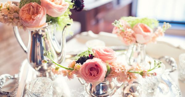 Wedding At The Chicory In New Orleans Flora Pink Flowers And