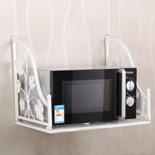 Microwave Wall Mount Shelf Modern