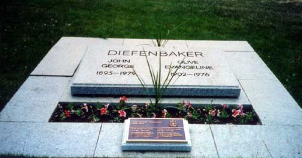 John George Diefenbaker 13th Prime Minister Of Canada 1895 1979