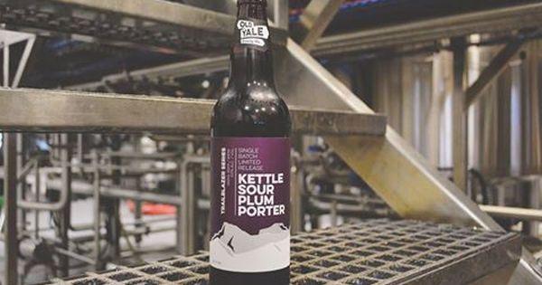 Old Yale Brewing Co Kettle Sour Plum Porter Corona Beer Bottle Beer Bottle
