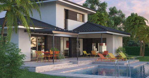 mod le de maison villa florida retrouvez tous les types de maison vendre en france sur. Black Bedroom Furniture Sets. Home Design Ideas