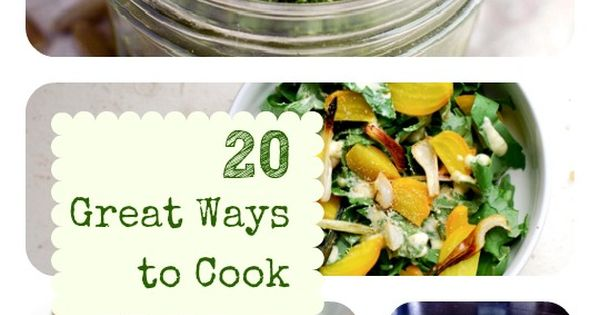 20 Fantastic Kale Recipes - Finally found a way to eat kale.